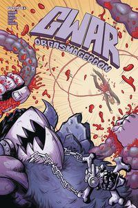 [GWAR: Orgasmageddon #4 (Cover B Harding) (Product Image)]