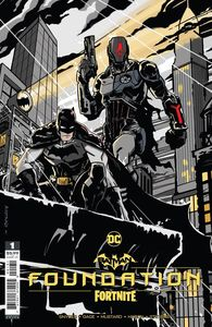 [Batman/Fortnite: Foundation #1: One Shot (Cover C Donald Mustard Cardstock Variant) (Product Image)]