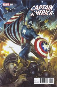 [Captain America #695 (Granov Variant) (Legacy) (Product Image)]