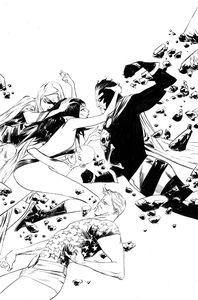 [Vampirella: Dark Powers #4 (Lee Black & White Virgin Variant) (Product Image)]