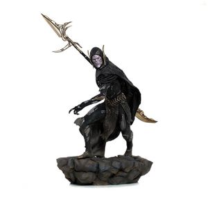 [Avengers: Endgame: Black Order Deluxe Art Scale Statue: Corvus Glaive (Product Image)]