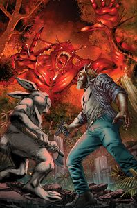 [Man Goat & Bunny Man #3 (Cover A Vitorino) (Product Image)]