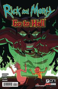 [Rick & Morty: Go To Hell #4 (Cover A Oroza) (Product Image)]