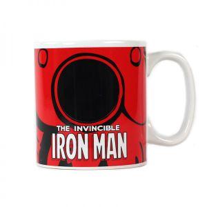 [Marvel: Heat Changing Mug: Iron Man (Product Image)]