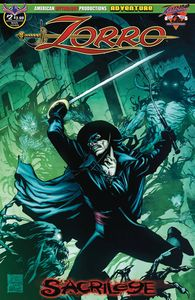 [Zorro: Sacrilege #2 (Martinez Main Cover) (Product Image)]