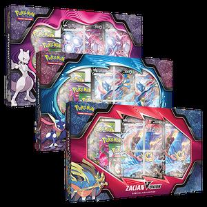 [Pokémon: V Union Box: Mewtwo/Greninja/Zacian (Product Image)]