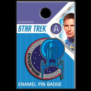 [Star Trek: Enterprise: Enamel Pin Badge: Uniform Patch (Product Image)]