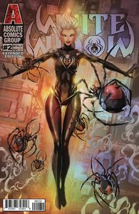 [White Widow #2 (2nd Printing Cover C Incentive Holographic Metallic Ink) (Product Image)]