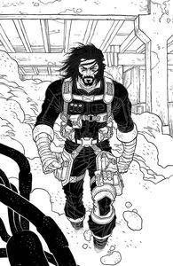 [BRZRKR (Berzerker) #1 (Cover L Grampa Black & White Virgin Variant) (Product Image)]