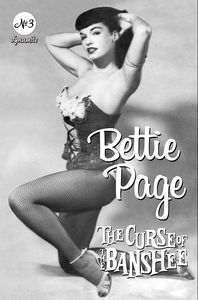 [Bettie Page: The Curse Of The Banshee #3 (Cover E Bettie Page Pin) (Product Image)]
