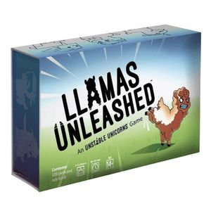 [Llamas Unleashed (Product Image)]
