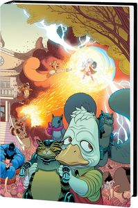 [Howard The Duck By Zdarsky & Quinones: Omnibus (Moore DM Variant Hardcover) (Product Image)]