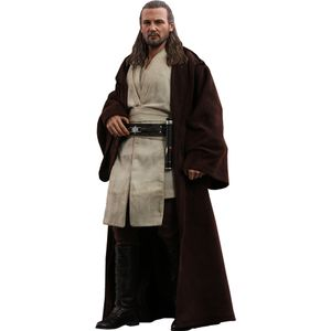 [Star Wars: The Phantom Menace: Hot Toys Figure: Qui-Gon Jinn (Product Image)]