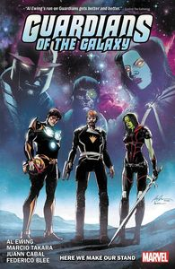 [Guardians Of The Galaxy By Al Ewing: Volume 2: Here We Make Our Stand (Product Image)]