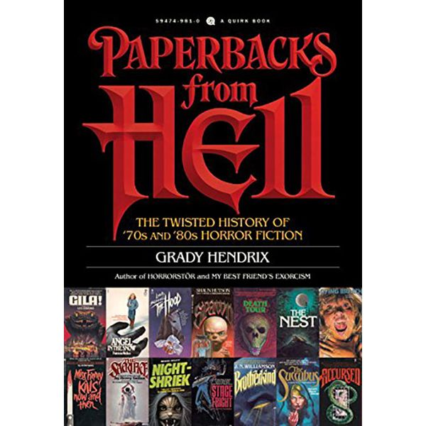 [The cover for Paperbacks From Hell: A History Of Horror Fiction From The '70s & '80s]