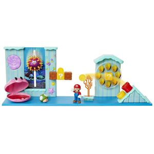 [World Of Nintendo: Deluxe Action Figure Playset: Super Mario Underwater (Product Image)]