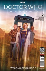 [Doctor Who: 13th Doctor #1 (LCSD Variant) (Product Image)]