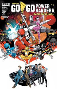 [Go Go Power Rangers Back To School #1 (Product Image)]