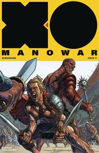 [X-O Manowar (2017) #17 (Cover A Larosa) (Product Image)]