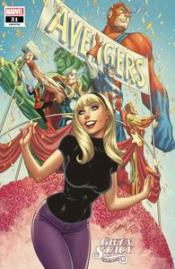 [Avengers #31 (J Scott Campbell Gwen Stacy Variant) (Product Image)]