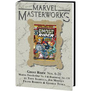 [Marvel Masterworks: Ghost Rider: Volume 2 (DM Variant Edition 297 Hardcover) (Product Image)]