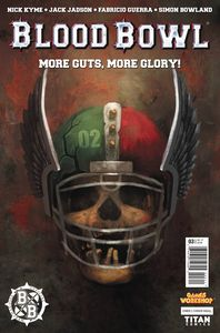 [Blood Bowl: More Guts, More Glory #3 (Cover A Magill) (Product Image)]