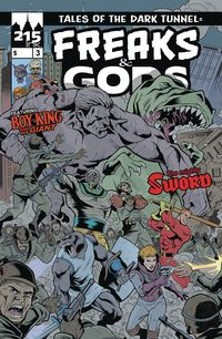 [The cover for Freaks & Gods #3]