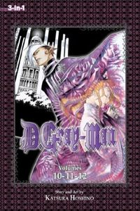 [D. Gray-Man: 3-In-1 Edition: Volume 4 (Product Image)]