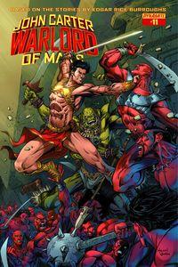 [John Carter: Warlord #11 (Cover B Malsuni) (Product Image)]