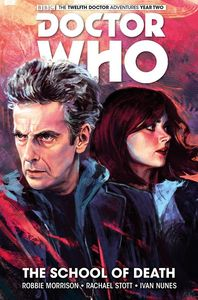 [Doctor Who: The Twelfth Doctor: The School Of Death (Hardcover) (Product Image)]