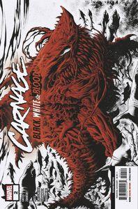 [Carnage: Black White & Blood #2 (2nd Printing Hotz Variant) (Product Image)]