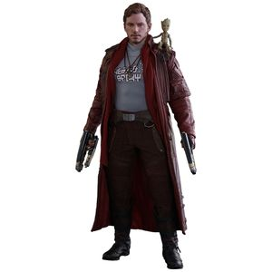 [Guardians Of The Galaxy Vol. 2: Hot Toys Deluxe Action Figure: Star-Lord (Product Image)]