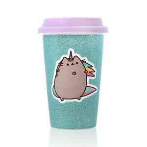 [Pusheen: Travel Mug: Glitter Unicorn (Product Image)]