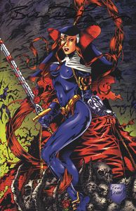 [Warrior Nun: 1997 #1 (Commemorative Signed Variant) (Product Image)]