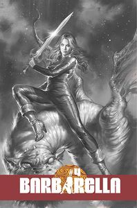 [Barbarella #4 (Cover F Parrillo Black & White Variant) (Product Image)]