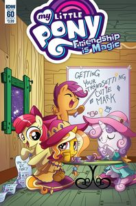 [My Little Pony: Friendship Is Magic #60 (Cover A Garbowska) (Product Image)]