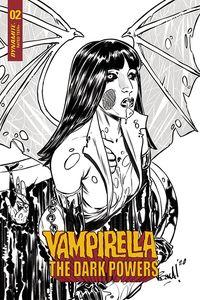 [Vampirella: Dark Powers #2 (Federici Zombie B&W Variant) (Product Image)]