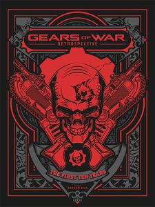 [Gears Of War: Retrospective (Hardcover) (Product Image)]