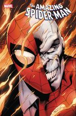 [The latest cover for Amazing Spider-Man]