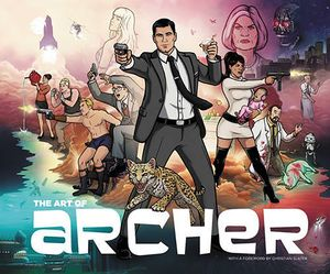 [The Art Of Archer (Hardcover) (Product Image)]