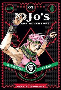 [Jojo's Bizarre Adventure: Part 2 Battle Tendency: Volume 3 (Hardcover) (Product Image)]