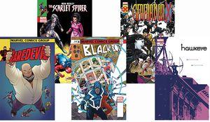 [Marvel Legacy: Lenticular 5 Pack (Set 8) (Product Image)]