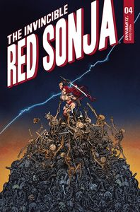 [Invincible Red Sonja #4 (Cover P Premium Moritat Variant) (Product Image)]