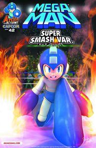 [Mega Man #42 (Super Smash Variant Cover) (Product Image)]