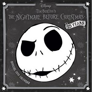 [Nightmare Before Christmas: 2019 Calendar (Product Image)]