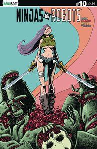 [Ninjas & Robots #10 (Cover C Beezer) (Product Image)]