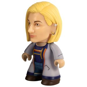 [Doctor Who: 13th Doctor: TITANS Vinyl Figure: Titan Blue Longcoat (SDCC) (Product Image)]