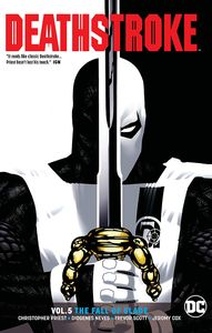 [Deathstroke: Volume 5: The Fall Of Slade: Rebirth (Product Image)]