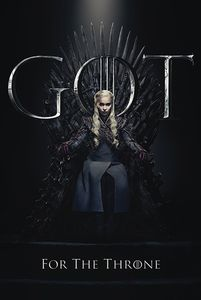 [Game Of Thrones: Poster: Danerys For The Throne (Product Image)]