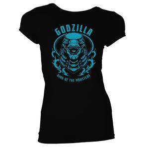 [Godzilla Vs Kong: Women's Fit T-Shirt: Godzilla King Of The Monsters (Product Image)]
